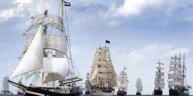 Windjammer 660x330 - Sail 2020 - Bremerhaven setzt Segel